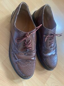 Mens Real Leather Shoes Size 6
