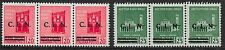 Italy/Torino stamps 1944 2 CLN ovpt Local strips of 3  MNH  VF