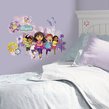 DORA AND FRIENDS GiaNT WALL DECALS Grown Up Dora Stickers Girls Bedroom Decor