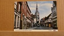 Postcard unposted Nottinghamshire, Newark Parish church of St Mary Magdalene