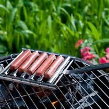 Man-Law BBQ  Hot Dog Griller Brat Griller 16.9 x 6.75 Stainless Steel