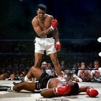 Muhammad Ali Art Print 13x19 Poster Boxing Classic Sonny Liston HD Resolution
