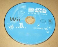 LEGO Star Wars: The Complete Saga (Game Only) Nintendo Wii Fast Shipping