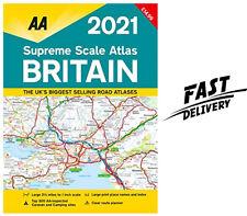 Supreme Scale Atlas Britain 2021 Spiral Bound (AA Road Atlas Br...(Spiral-bound)