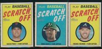 2019 Topps Heritage 1970 Topps Scratch-Off Insert Pick from List Qty Discount