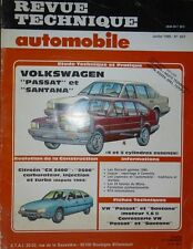 NEUF Revue technique VOLKSWAGEN PASSAT SANTANA 4/5 CYL. essence RTA 457 1985 CX