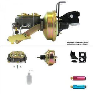 "1948-1952 F1 Pickup Frame Mount Power 7"" Single Brake Booster Kit Fits Ford Truc"