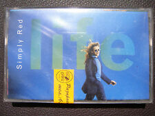 Simply Red - Life AUDIO CASSETTE TAPE New, Sealed, BG edition, Rare Out of Print