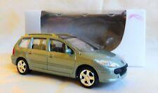"Peugeot 307 SW Vert 1/64 ""3 Inche"" Diecast NOREV Produit NEUF !!"