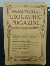 National Geographic Magazine ~ January 1910 ORIGINAL vintage issue