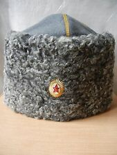 Hat PAPAHA Papakha Soviet Army General Colonel Uniform Russian USSR size 56