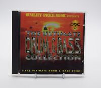THE ULTIMATE DRUM & BASS COLLECTION DISC 2 Rare Quality Price Music CD Album VGC