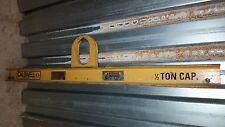 Caldwell Strong Bac Rigging Lifting Beam Spreader Bar 1/2 TON 1000lb  20S-.5-42