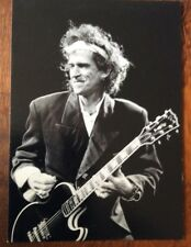 Keith Richards Postcard photo by Robert Matheu Rolling Stones great condition