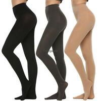Women thick warm Opaque Footed 400D Denier Velvet Pantyhose Stocking Sock Tight