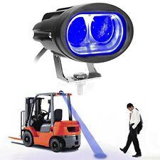 LED Forklift warning light spotlight working lamp light blue 20W convex lens