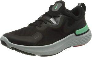 Nike Men's React Miler Running Shoe, Black/Iron/Grey Green, 11.5 D(M) US