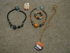 SELECTION OF FASHION JEWELLERY NECKLACES/BRACLET & EARRINGS - ALL NEW