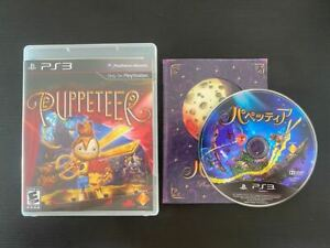 Puppeteer - PlayStation PS3 - RARE - Region Free Plays In English
