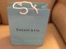 Tiffany & Co. Paper Shopping Gift Bag - Authentic - Empty - 9.5x8x4 - Pre-Owned