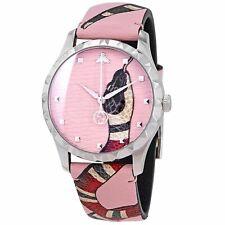 Reloj De Cuarzo Gucci YA1264083 mujer le marche des Merveilles Rosa