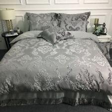 Winter Warm Flannel 3D Jacquard Bedding Set Duvet Cover Bed Sheet Pillowcases