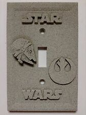 Star Wars Stone Texture Light Switch Cover (Custom)