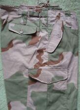 Camuffati Combat Esercito Cargo Pantaloni Taglia 48 Deserto
