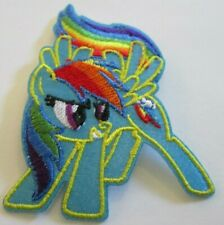 RAINBOW DASH EMBROIDERED PATCH SEW/IRON ON ~USA SELLER~