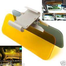 HD day night car sun vision visor flip down glare shield block view adjustableUV