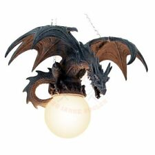 Dragon-Lamp-Dragon-in-flight-Lamp-Ceiling-Lamp-Gothic-Figurine-Fantasy.GREAT.