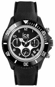 Ice Watch - Black - Large 014216, Ice-Dune Plastic Black analog quartz Watch