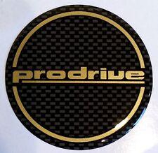 Prodrive 555 SUBARU IMPREZA ORO/NERO 60mm GEL parti di ruote x 4