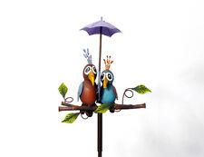 Gartenstecker Vogelpaar Stecker Gartendeko Deko 138 cm lang 12647