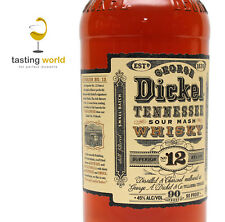 1 LITER Small Batch GEORGE DICKEL NO.12 Sour Mash Tennessee Whisky 45%