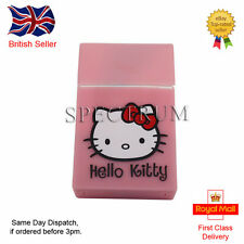 "Silicone Cigarette Case/Cover Pink ""Hello Kitty"" Logo (Same Day Dispatch)"