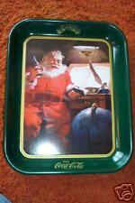 Coke Coca-Cola  1983 SANTA CLAUS TRAY > Vintage