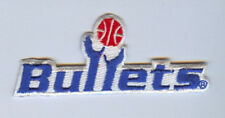 Washington Bullets 3-3/4 inch Embroidered Logo Patch