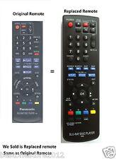 New BLU-RAY DISC DVD PLAYER Replaced Remote IR6 for Panasonic DMP-BD75 DMP-BD755