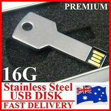 Premium 16G Key Shape USB2.0 Flash Disc Superfast 40M/s Read/Write Water-proof