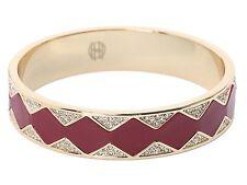 House of Harlow 1960 Nicole Richie Pave CZ Sunburst Cuff  Bracelet Bangle