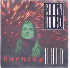 """CRAZY HORSE BURNING RAIN VINILE 45 GIRI 7"""" USED"""