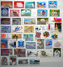 United Nations 1969 - 1984 MNH** Geneva - Wien - NY fine collection