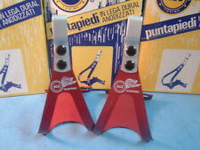 ALE Art.97 Alloy Small Red Road / MTB Toe Clips NEW / NOS Vintage- NIB-Rare!!