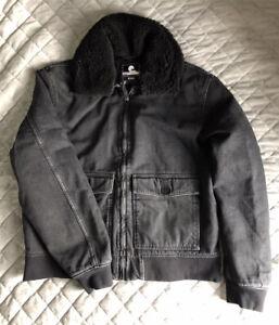 Edwin A2 Black Flight Jacket Large