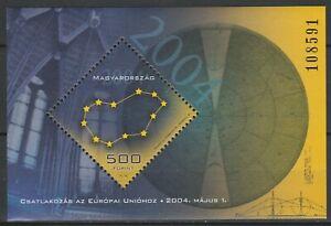 Hungary 2004 European Union MNH Block