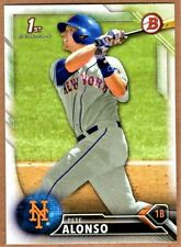 PETE ALONSO  2016 Bowman  Rookie # bd-92  Pete Alonso RC mint from pack