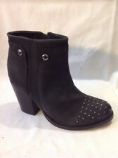 Love Sole Black Ankle Leather Boots Size 36