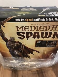Medieval Spawn Artist Proof Resin Statue McFarlane Collector's Club 50 UNOPENED