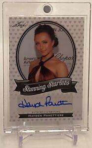 Hayden Panettiere 2011 Pop Century Stunning Starlets Autographs Auto Card #SSHP1